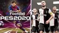 eFootball PES 2020 split