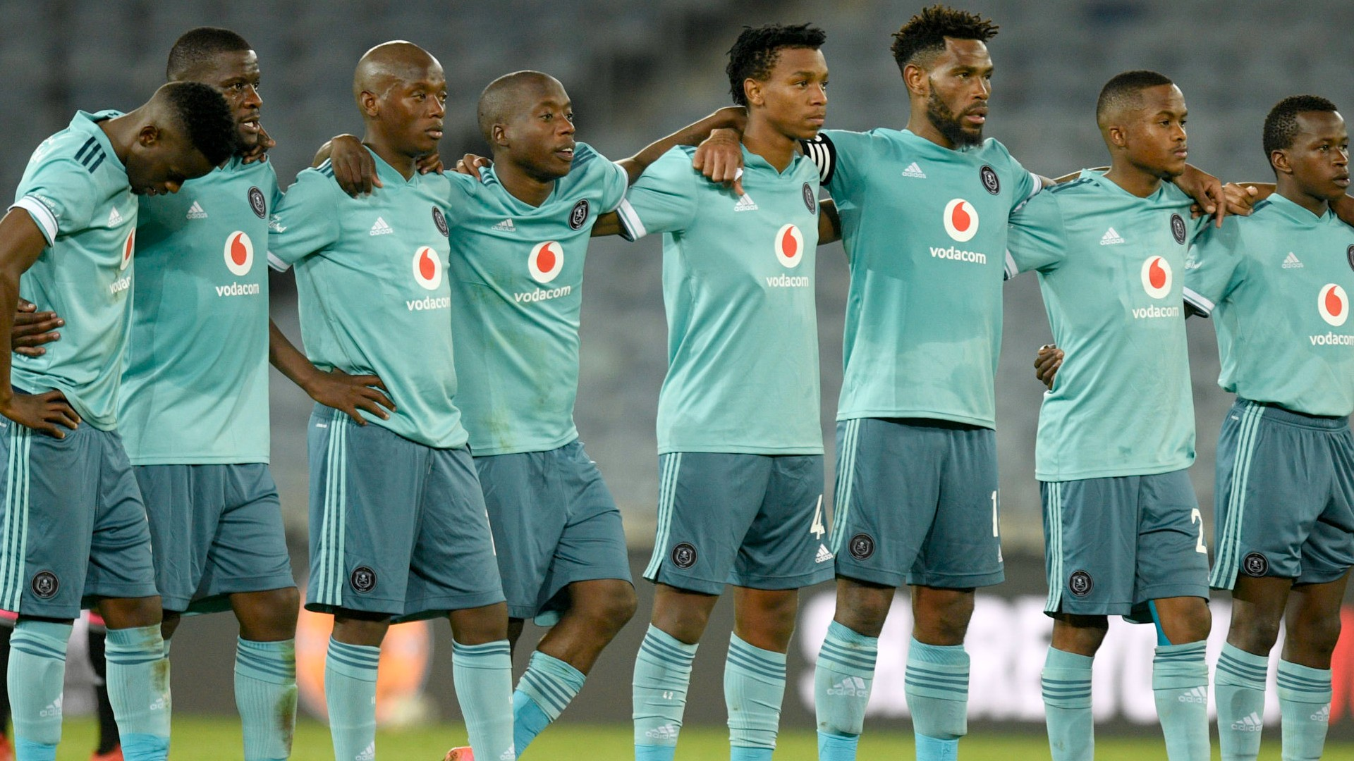 Davids confident he and Ncikazi can meet Pirates' expectations with 'full force'