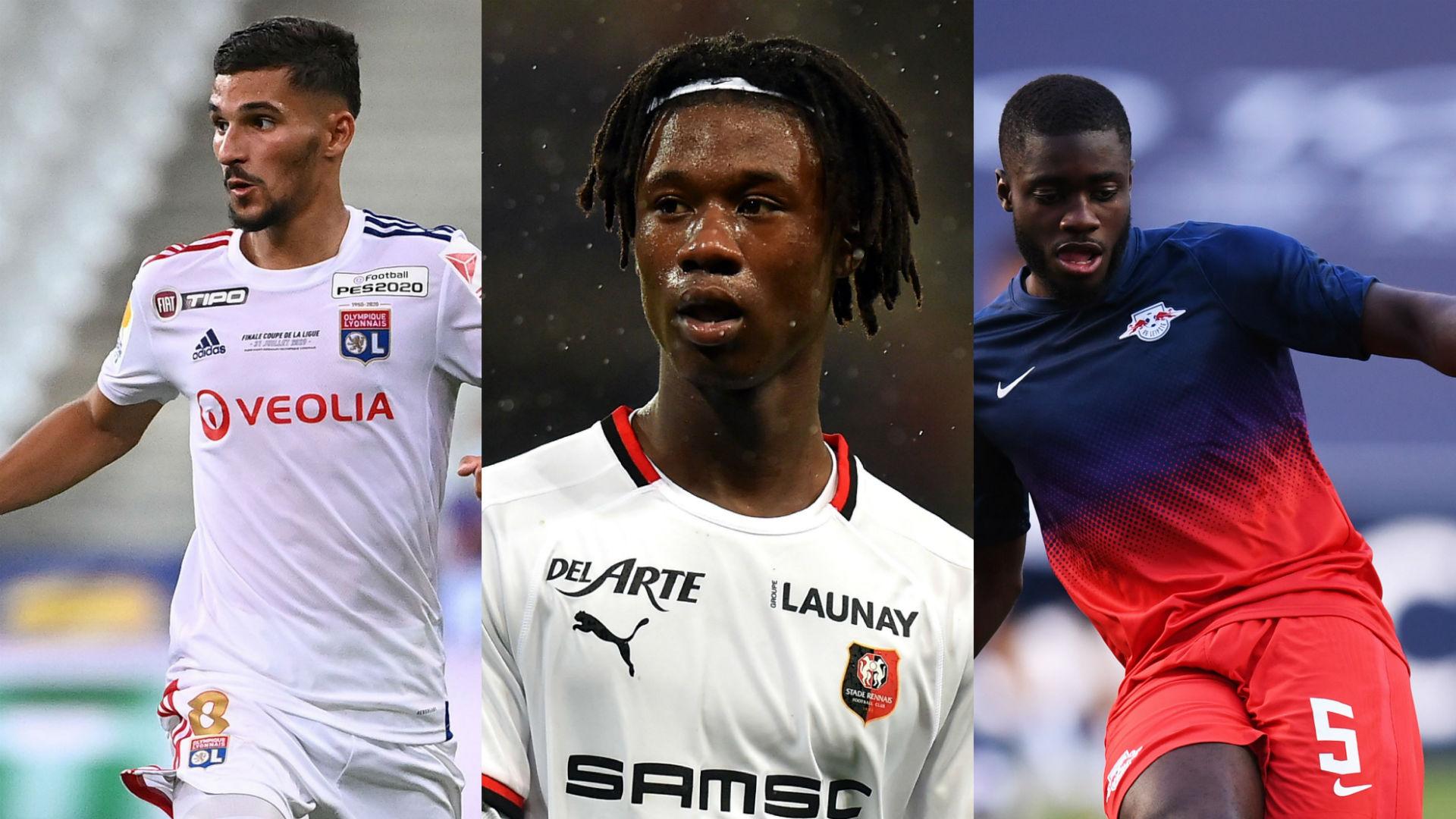 France boss Deschamps reveals reasons for selecting Aouar, Camvinga and Upamecano