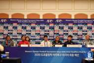 올림픽 여자축구 최종예선 기자회견