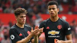 Daniel James, Mason Greenwood, Man Utd