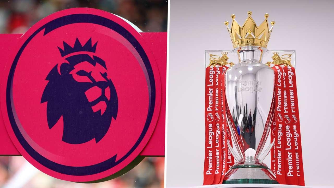 Premier League badge & trophy