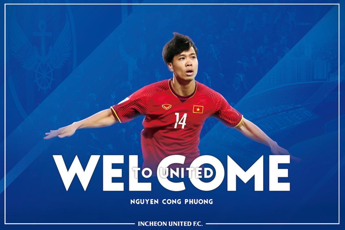 Nguyen Cong Phuong Incheon United K-League