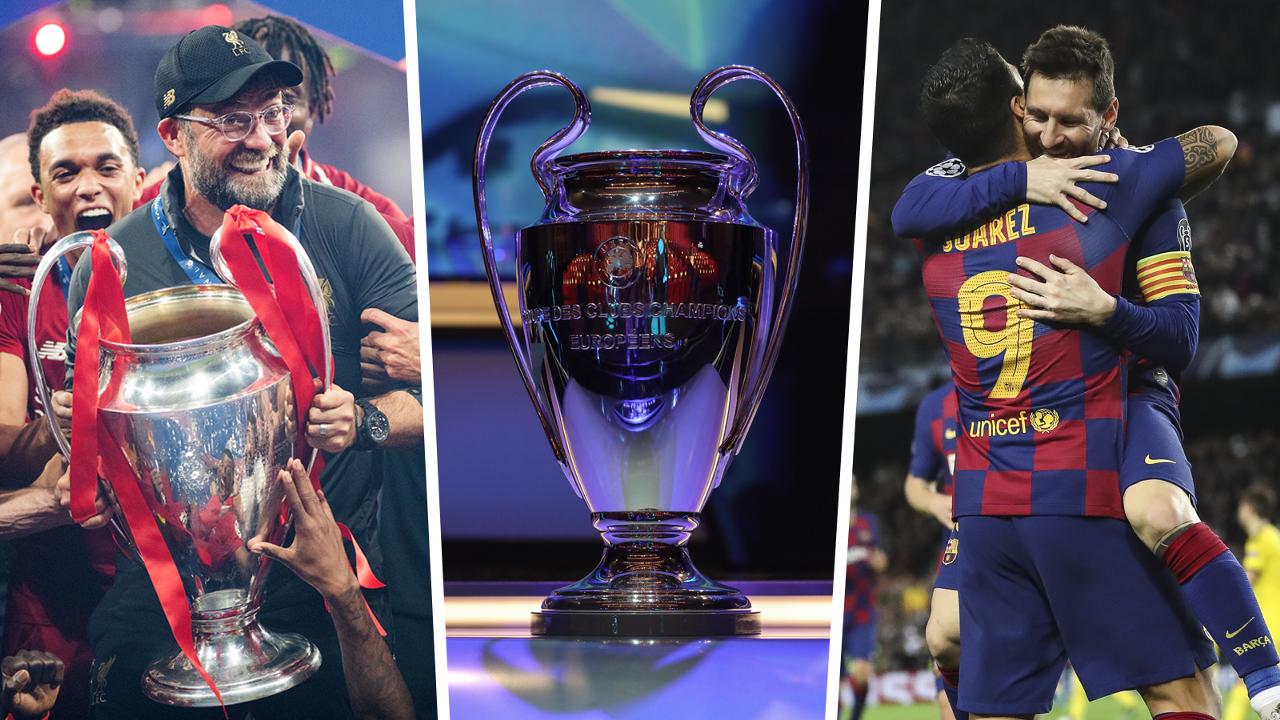 Champions League last 16 2019-20