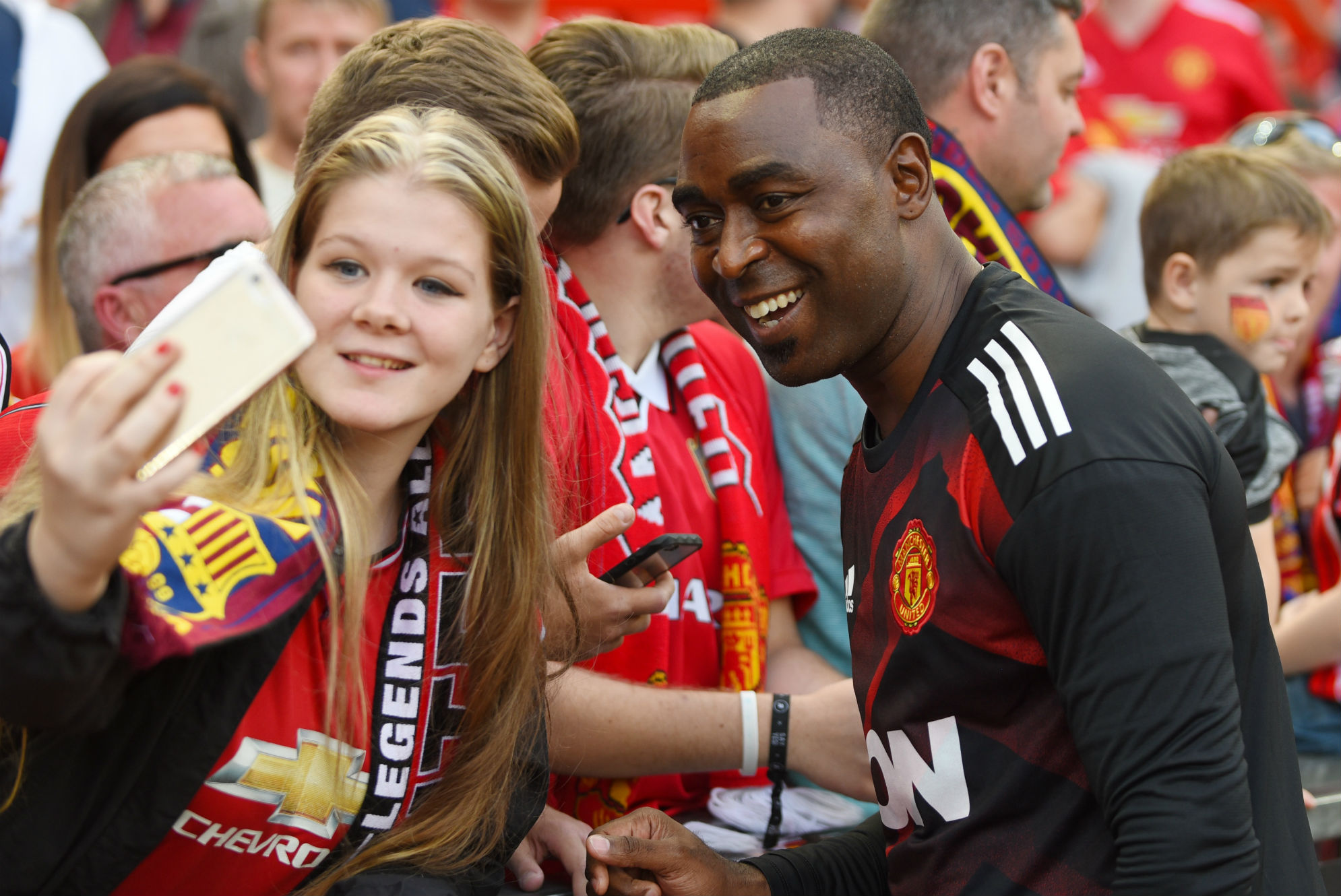 Andrew Cole Manchester United