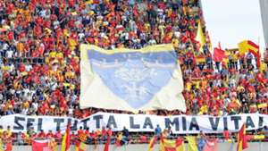 Lecce fans