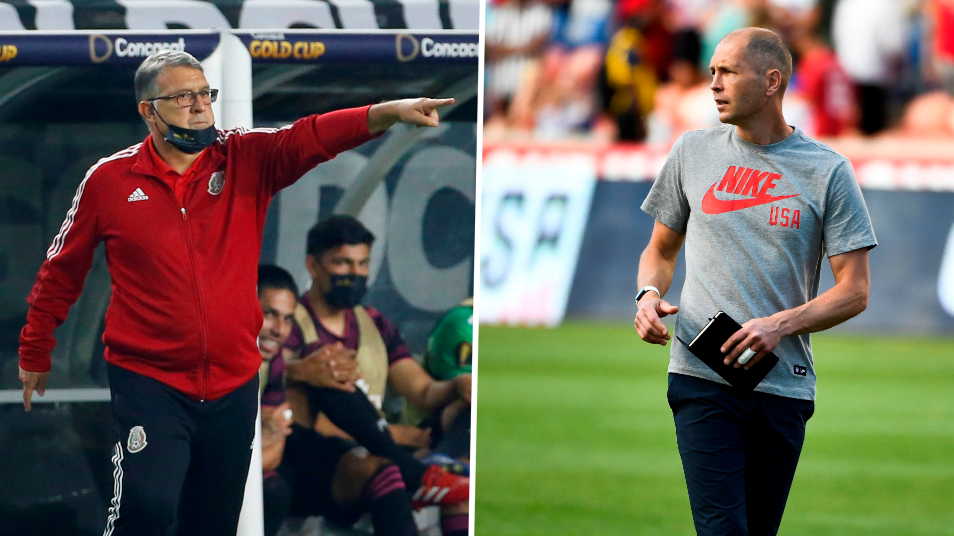 Mexico boss Martino responds after USMNT's Berhalter calls on referee to take control of Gold Cup final