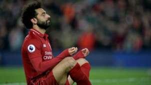 Mohamed Salah Festejo