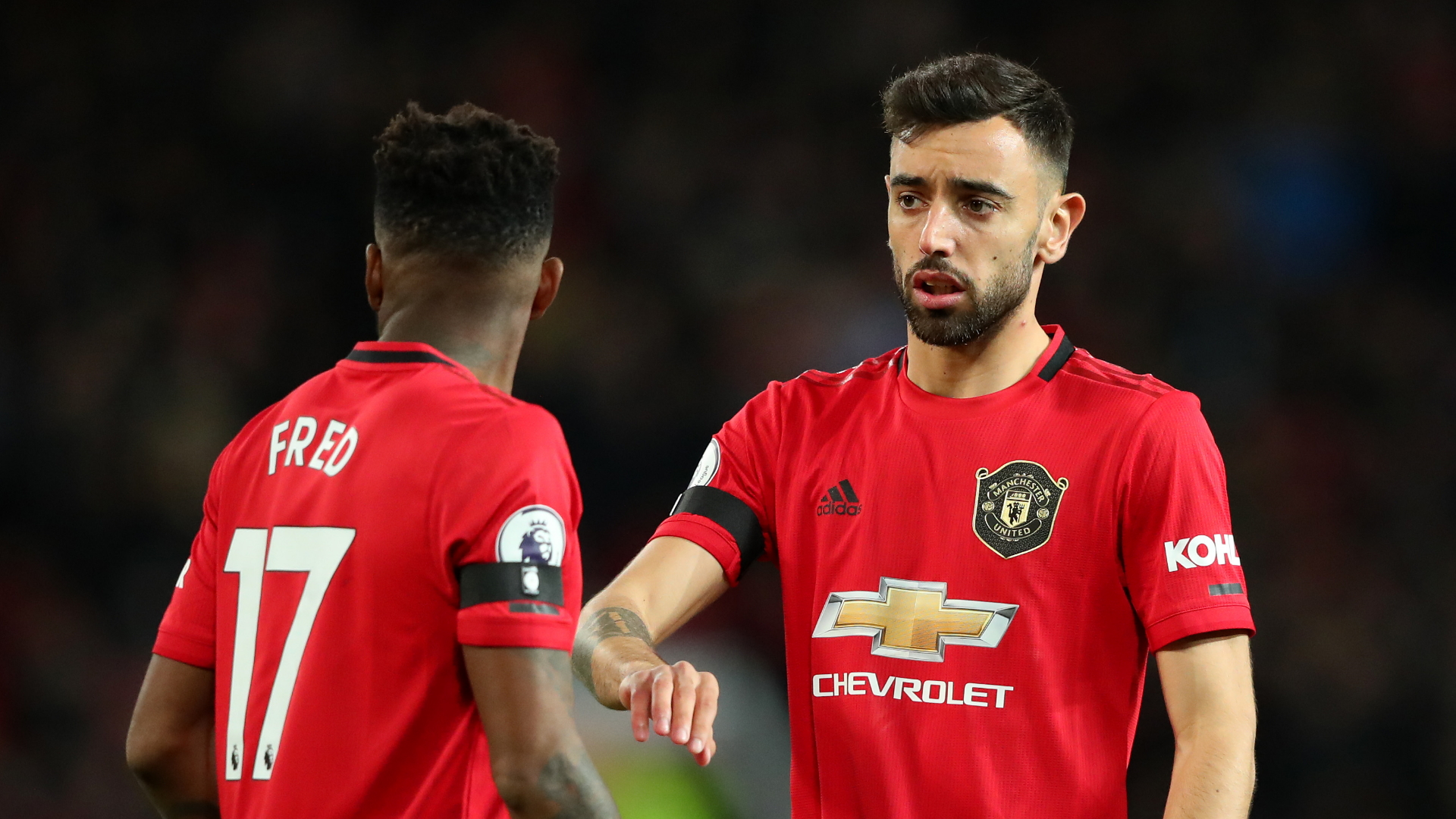 Fred confident Bruno Fernandes arrival at Man Utd will help him score more goals