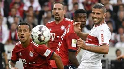 Thiago FC Bayern VfB stuttgart 01092018