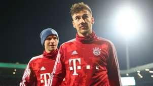 Leon Goretzka Thomas Müller FC Bayern 29102019