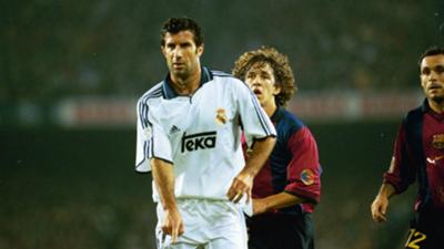 puyol Figo 20 aniversario regreso Camp Nou Barcelona Real Madrid 2000
