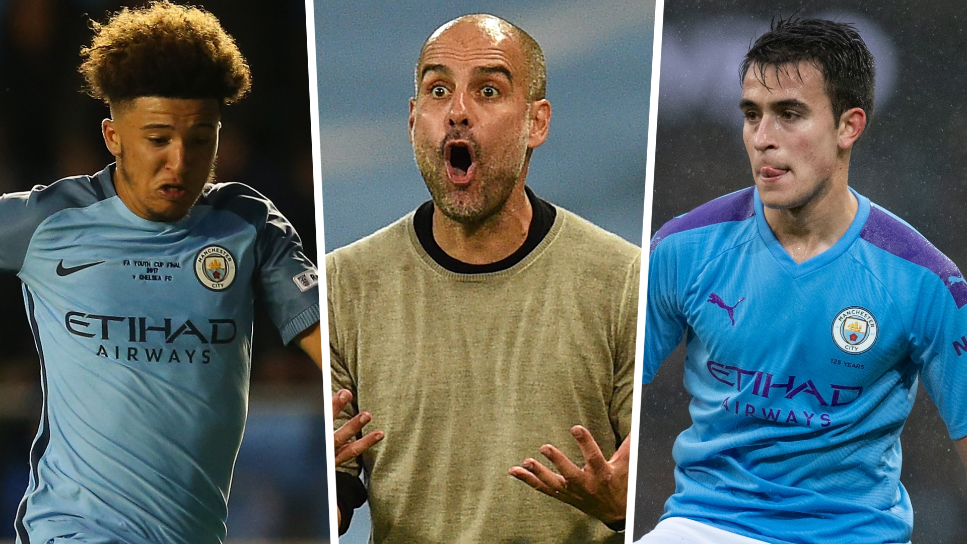 First Sancho Now Garcia Why Don t Man City s Young Stars Want To Play For Guardiola Goal com