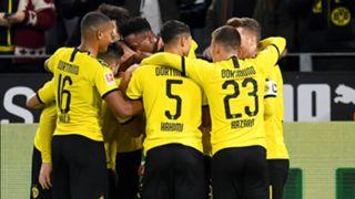 Borussia Dortmund celebrate 2019-20