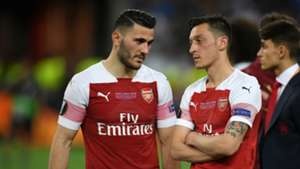 Mesut Ozil Sead Kolasinac Arsenal 2019