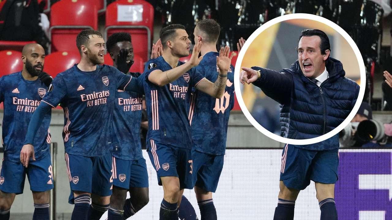 Unai Emery Arsenal Villarreal GFX