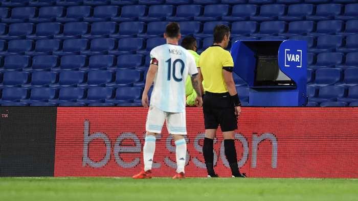 Lionel Messi/VAR Argentina 2020