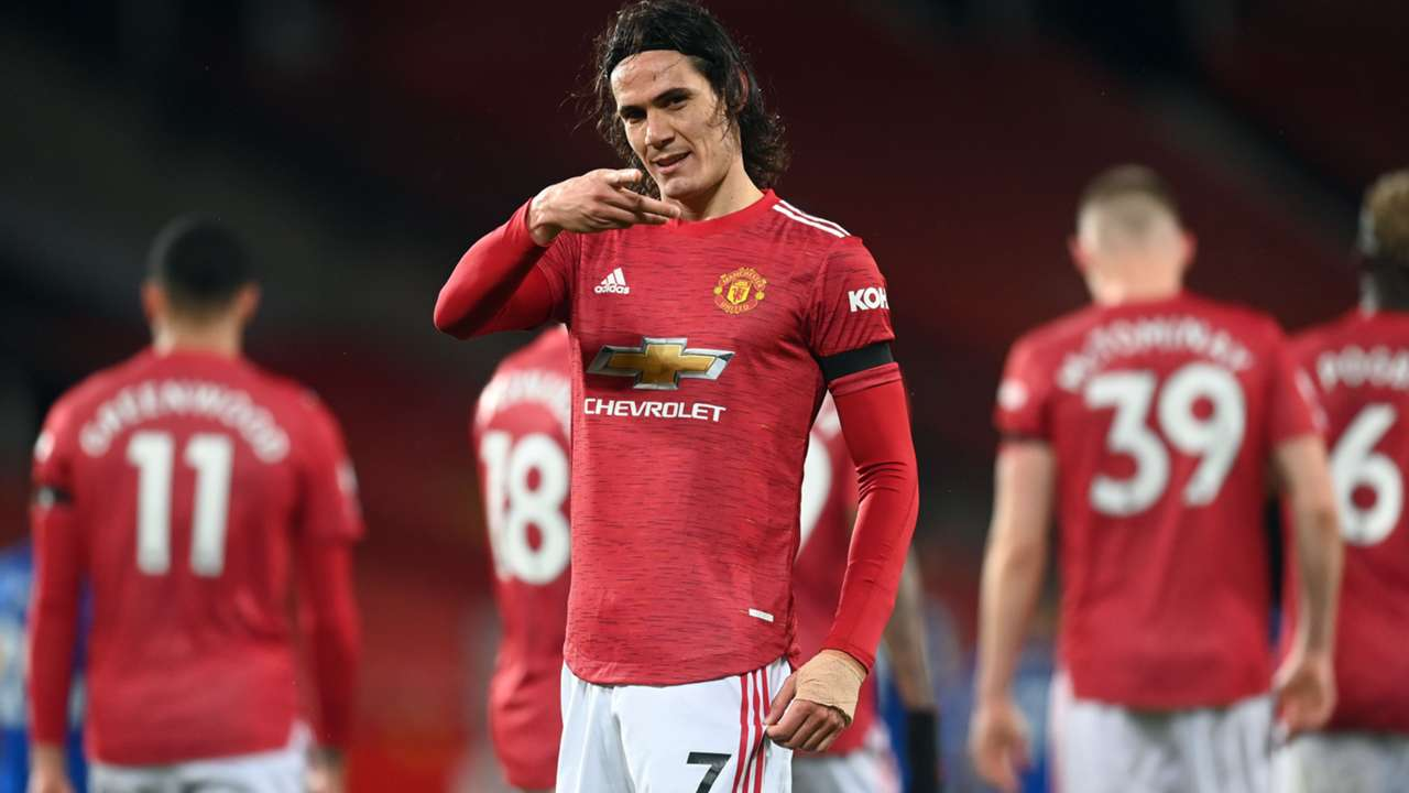 Edinson Cavani Manchester United 2020-21