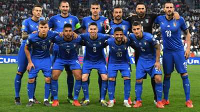 National team Italy 06112019