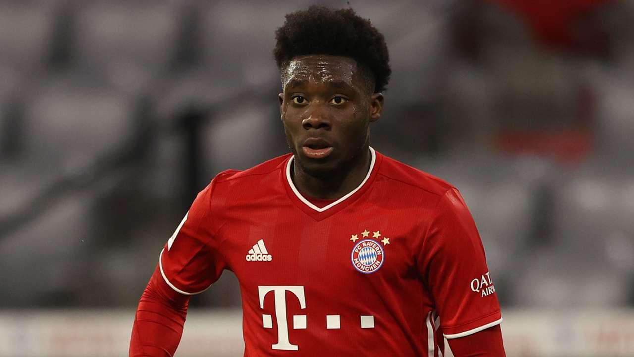 Alphonso Davies Bayern Munich 2020-21