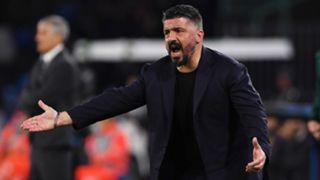 Gennaro Gattuso Napoli Barcelona 2019-20