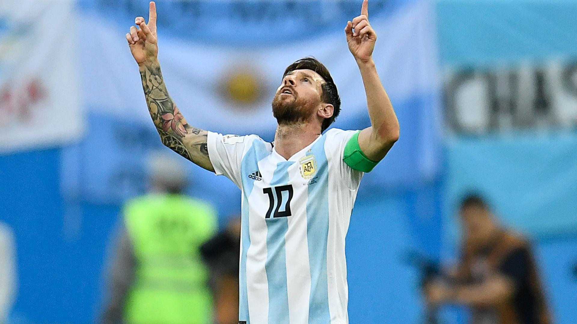 Lionel Messi en la Selección argentina: partidos, goles y asistencias |  Goal.com