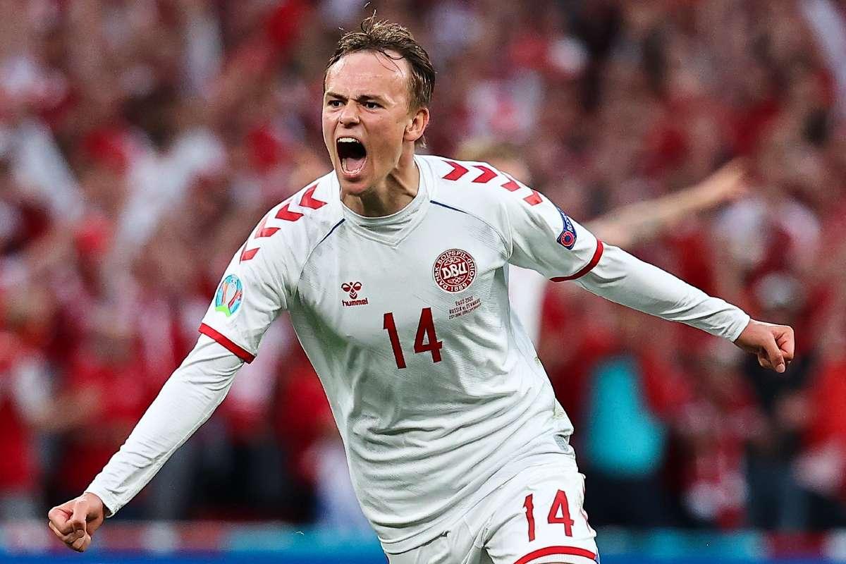 Ronaldo-esque' Damsgaard has become Denmark's Euro 2020 breakout star    Goal.com