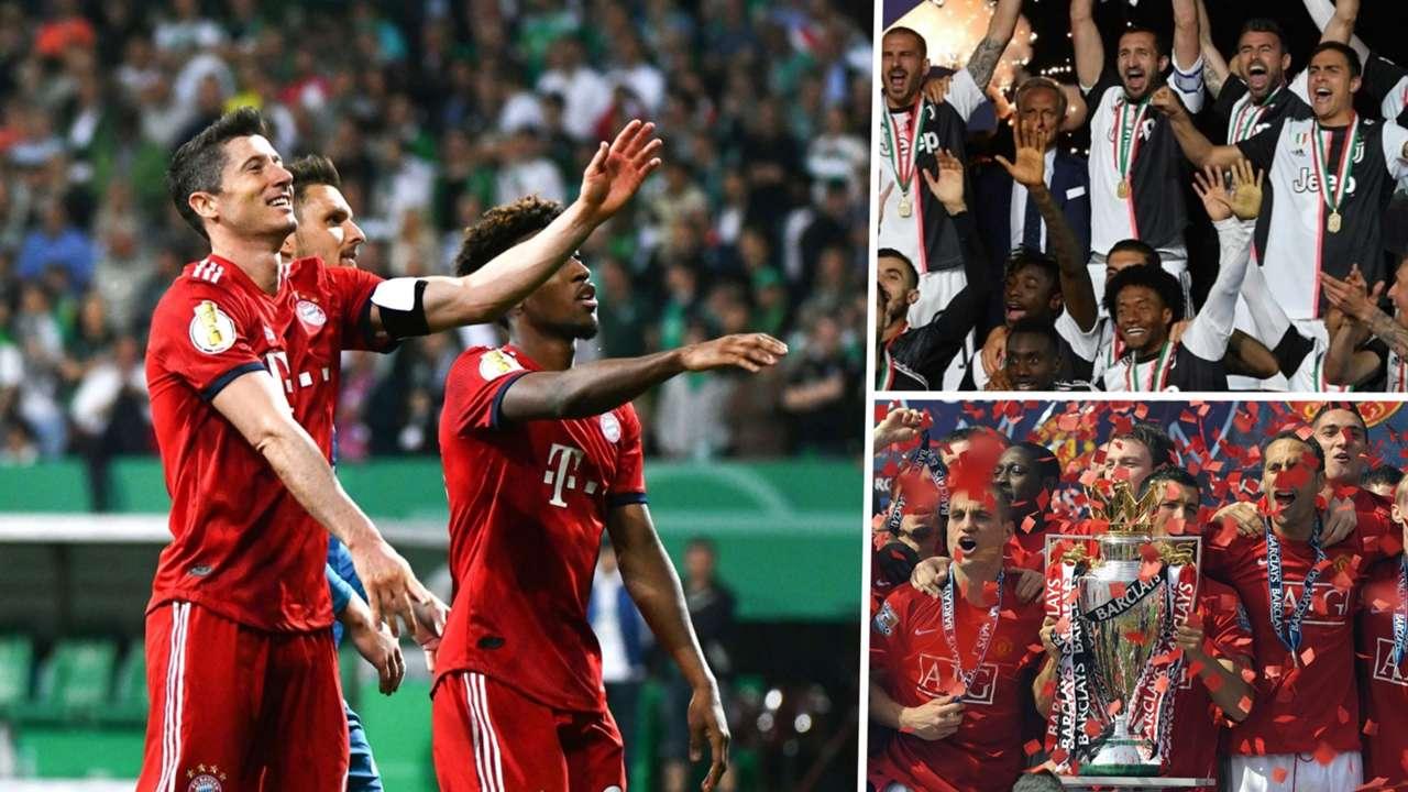 Bayern Munich, Juventus, Manchester United