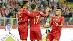 Andrè Silva Rafa Silva Joao Cancelo Poland Portugal UEFA Nations League