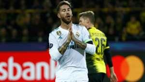 Sergio Ramos Borussia Dortmund Real Madrid Champions League 26092017