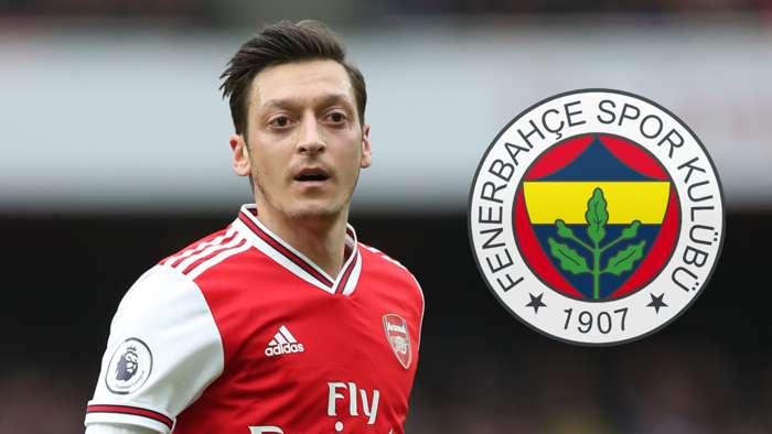 Mesut Ozil Arsenal Fenerbahce