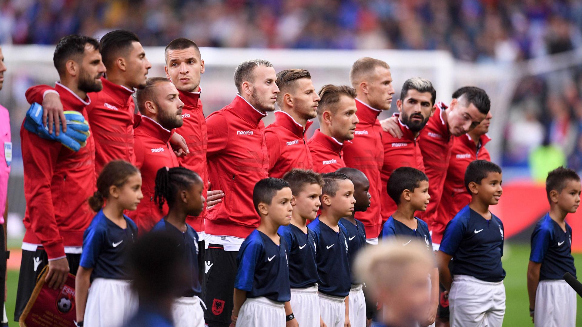 Frankreich Vs Albanien