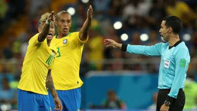 Neymar Miranda Brazil VAR Switzerland World Cup 2018