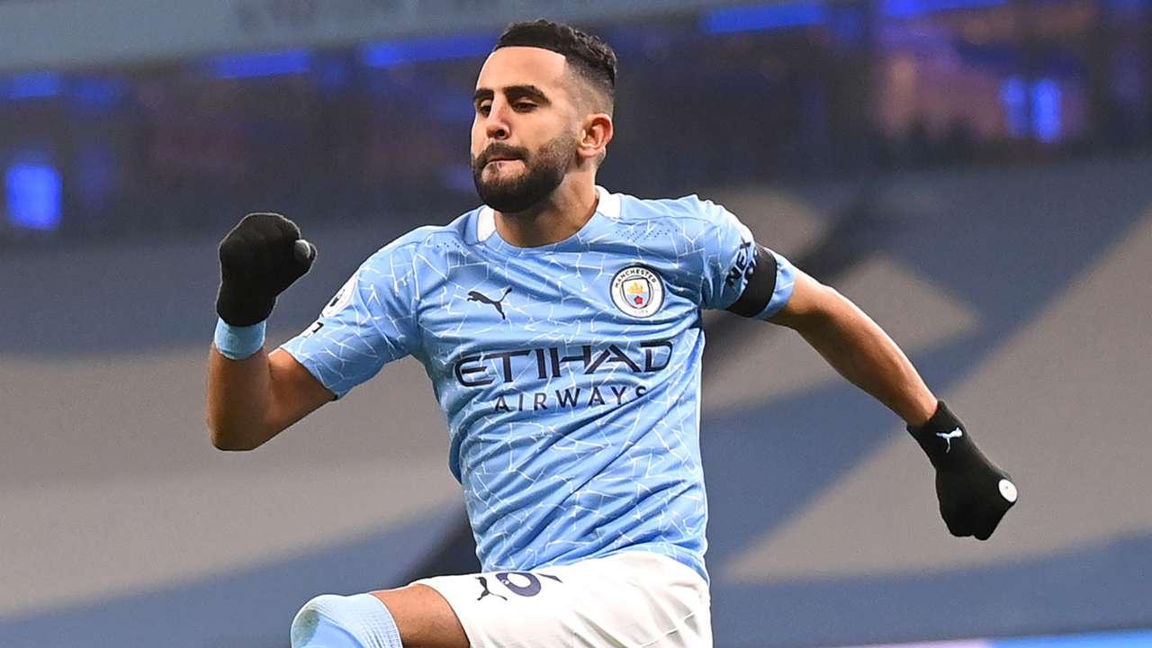 Riyad Mahrez Manchester City 2020-21