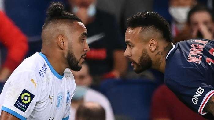 Neymar Dimitri Payet PSG Marseille Ligue 1 13092020