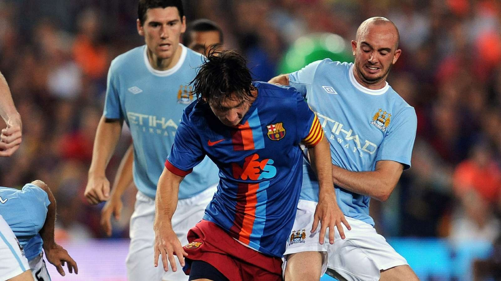 Messi Ireland Barcelona Manchester City 2009