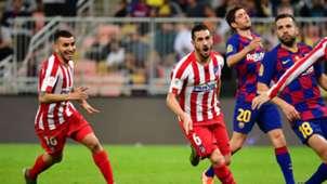 Barcelona Atletico madrid super cup 9012020