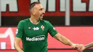 Ribery Milan Fiorentina
