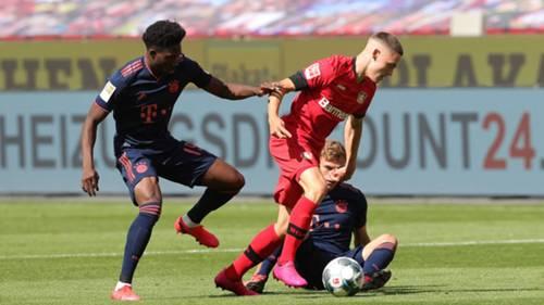 GER ONLY Florian Wirtz Bayer Leverkusen Alphonso Davies FC Bayern 0620