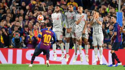 Lionel Messi Barcelona Liverpool UCL 01032019