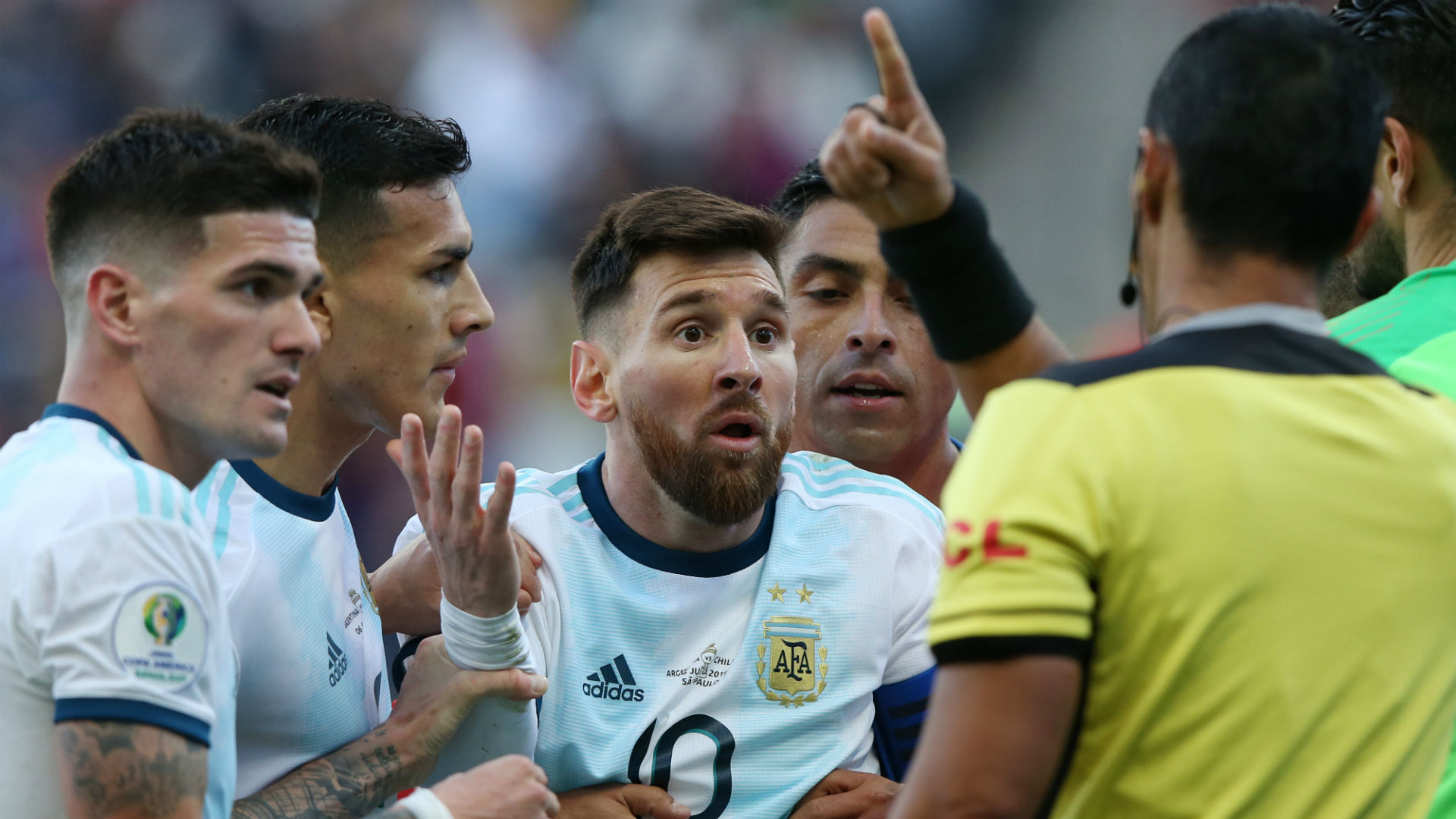 Messi back in Argentina squad after lengthy ban