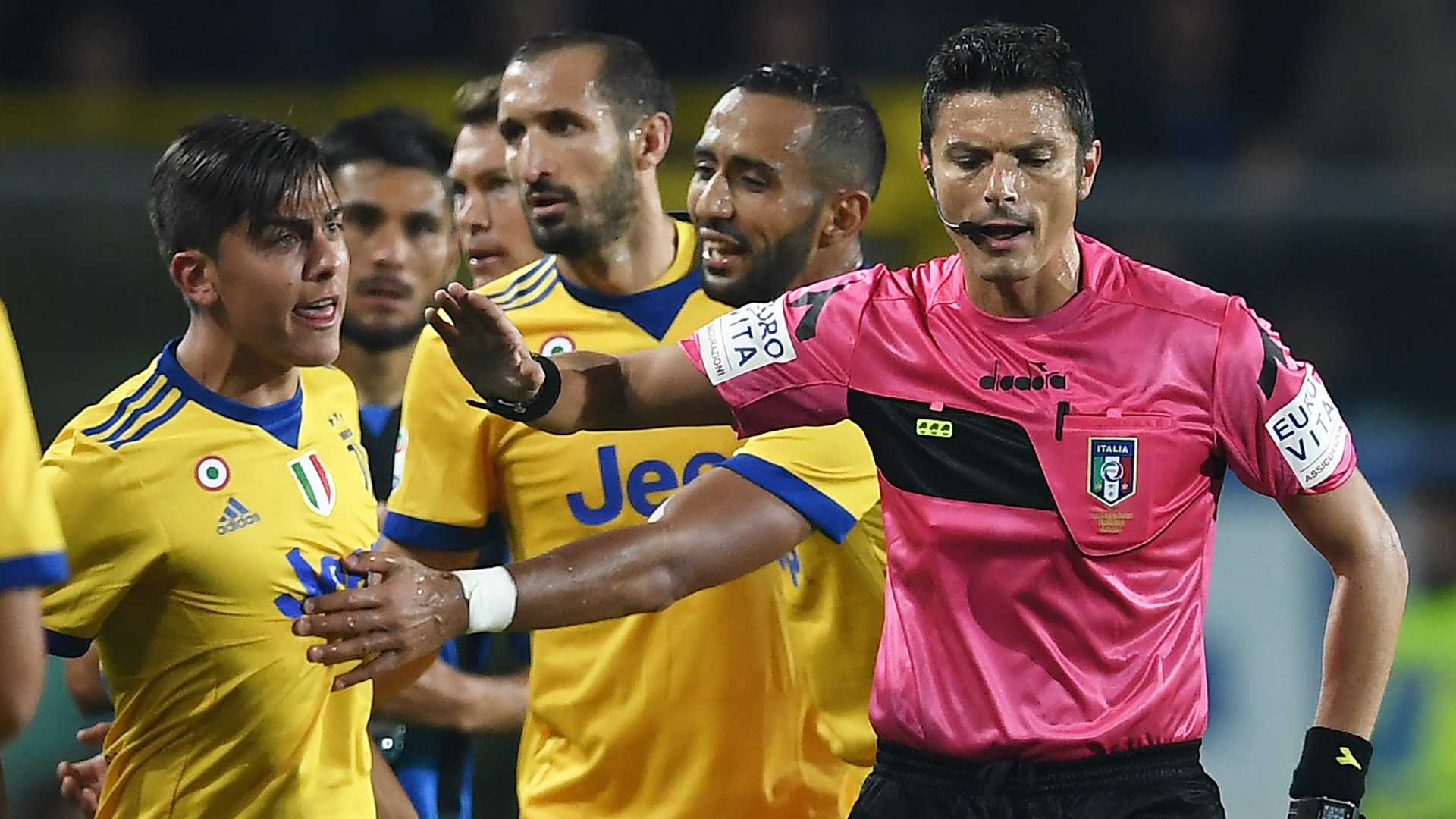 Juventus referee
