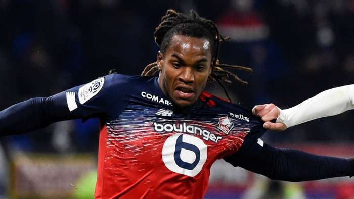Renato Sanches Lille 2019-20