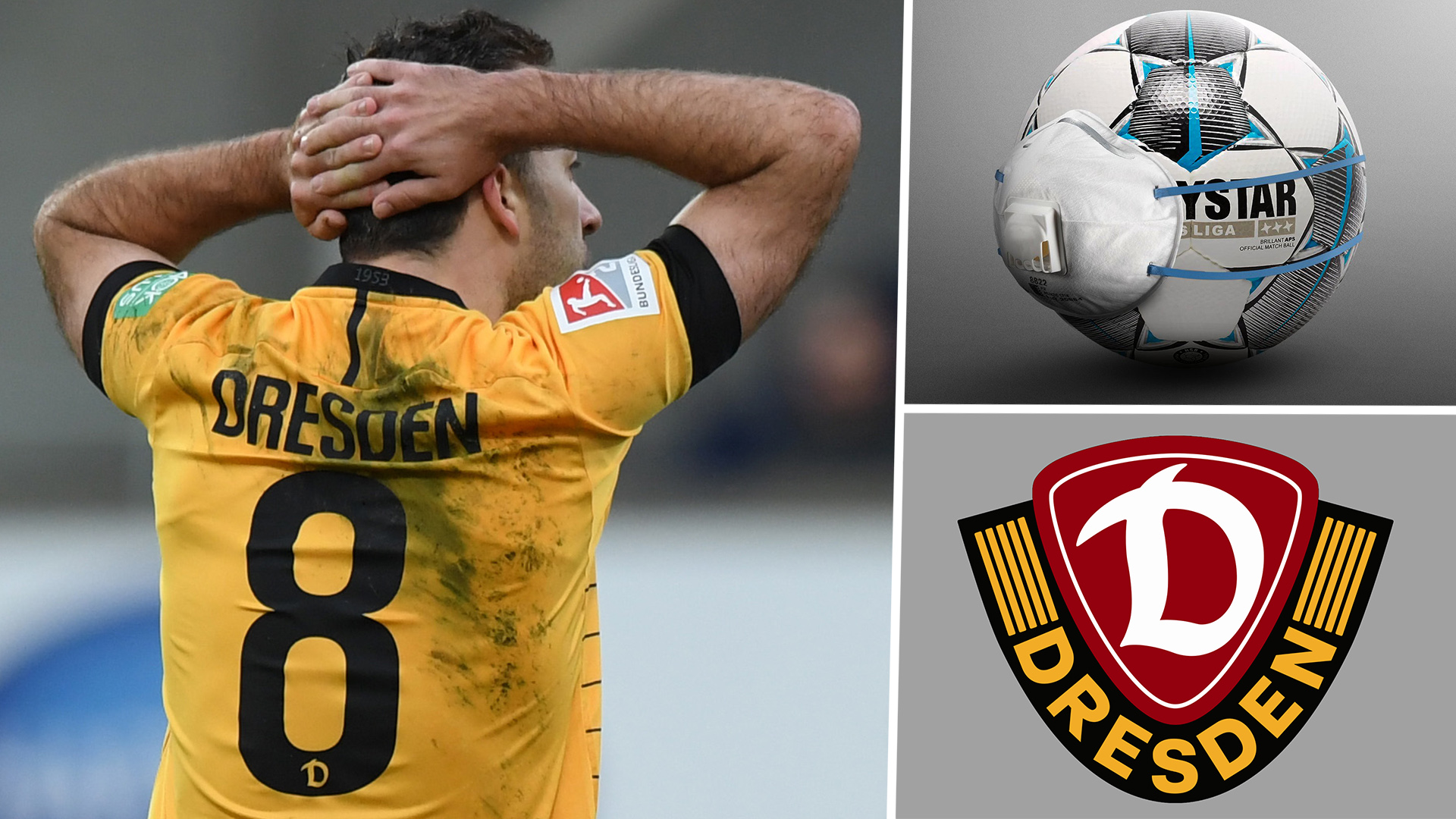 Bundesliga 2 side Dynamo Dresden ordered to quarantine squad ahead of restart