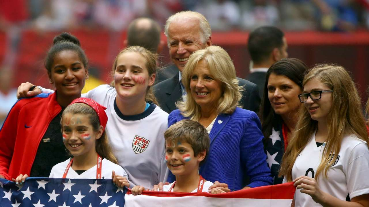 Joe Biden USWNT