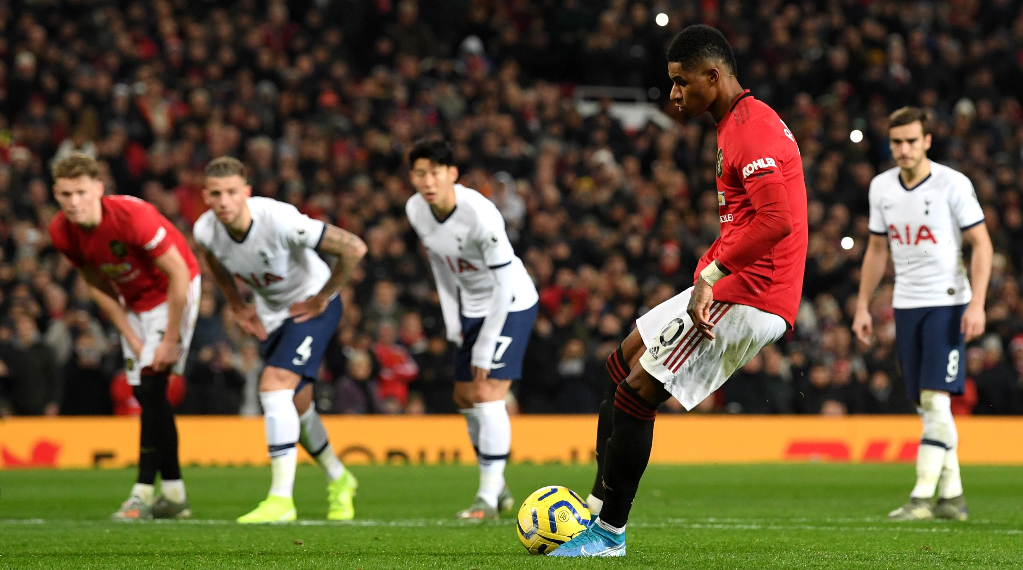 Laporan Pertandingan Manchester United Vs Tottenham Hotspur