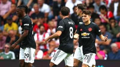 Daniel James Southampton vs Manchester United EPL 19/20