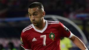 Hakim Ziyech Morocco 2019