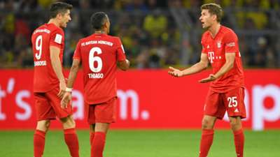Robert Lewandowski Thomas Muller Bayern Munchen 2019