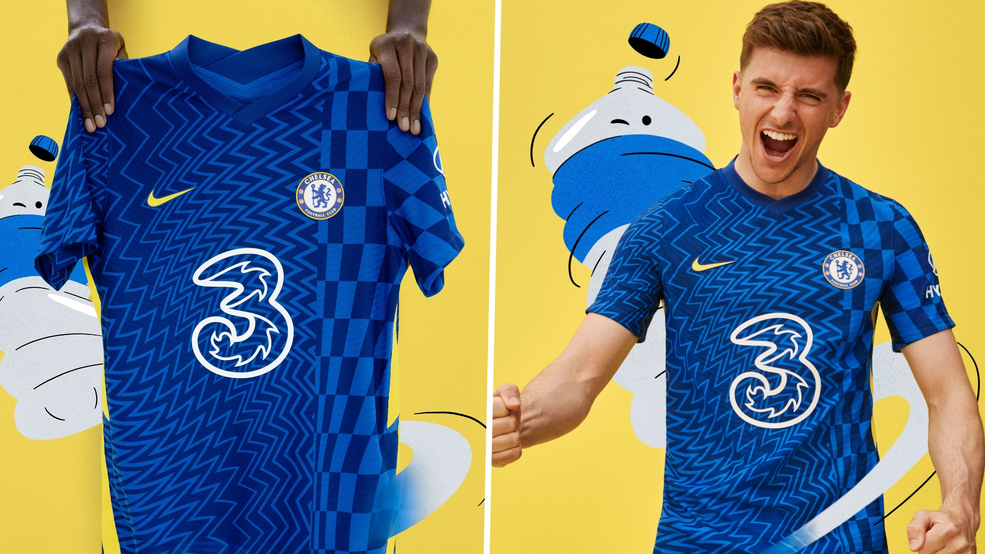 Chelsea 2021-22 kit: New home and away jersey styles & release ...